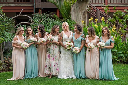 bride-and-bridesmaid-Catamaran-San-Diego