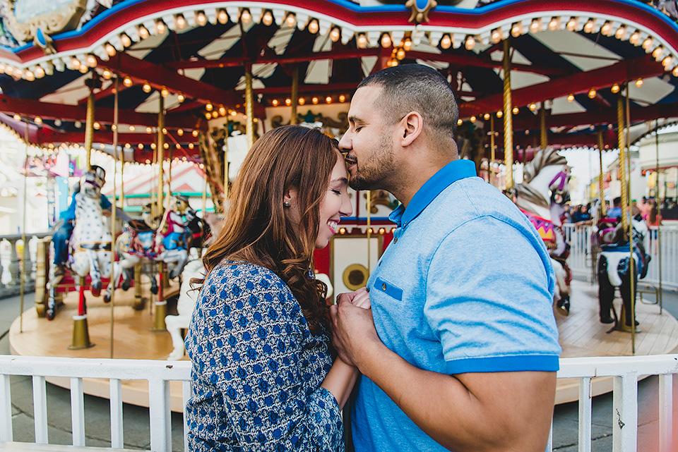 Belmont Park San Diego-Engagement Photos-Christina and Javier