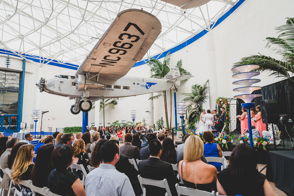 san diego air and space museum wedding