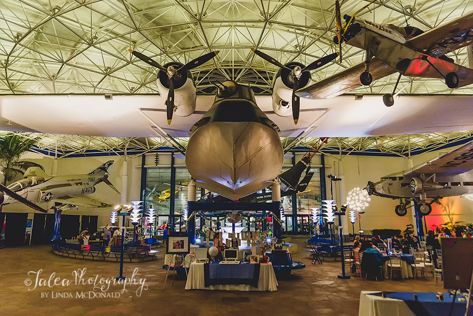 wedding san diego air and space museum