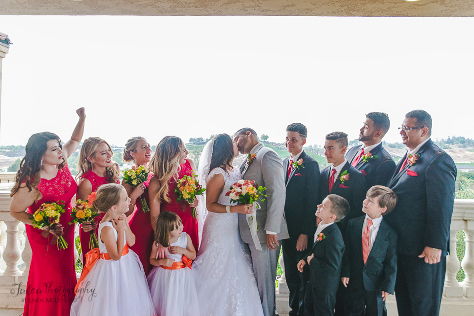 wedding party oak mountain winery temecula ca