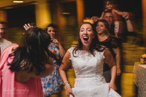 happy bride wedding reception oak mountain winery temecula ca