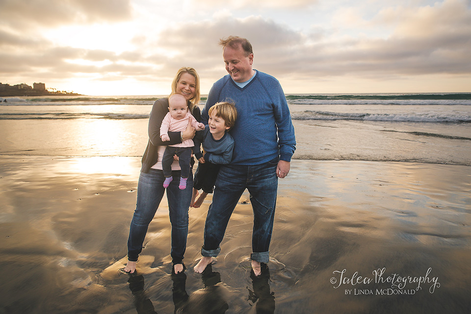 Family Beach Lifestyle Session La Jolla Shores