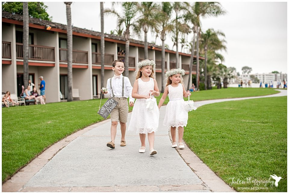 flower-girls-ring-bearer-walking-down-the-sidewalk-mission-bay-wedding