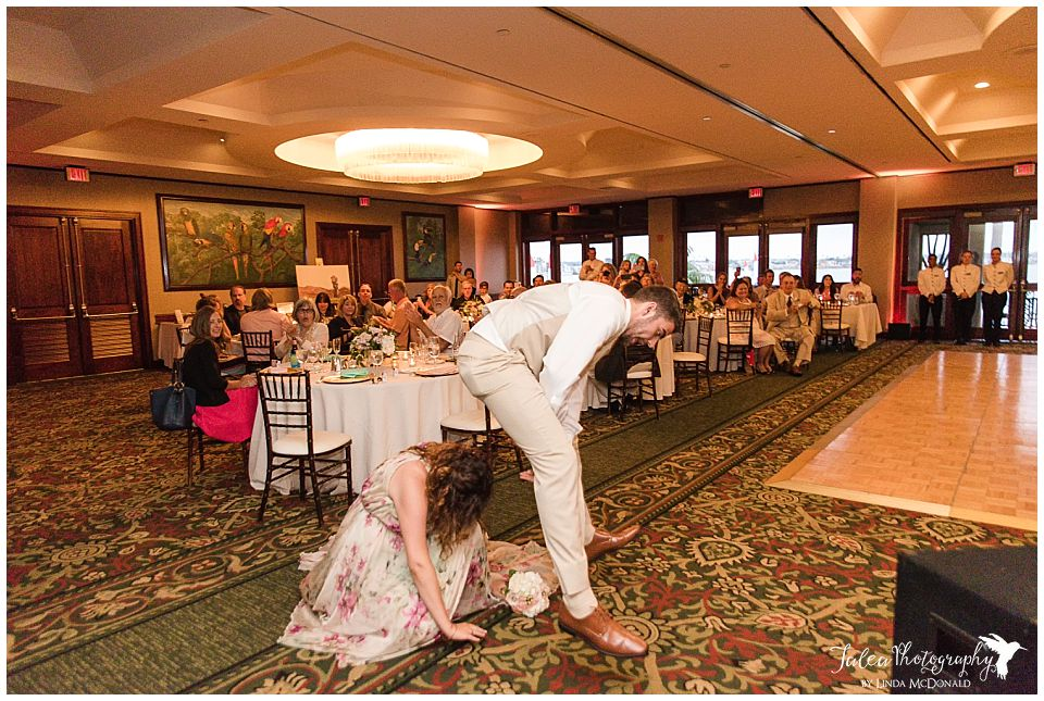 best-maid-maid-of-honor-grand-entrance-doing-leap-frog