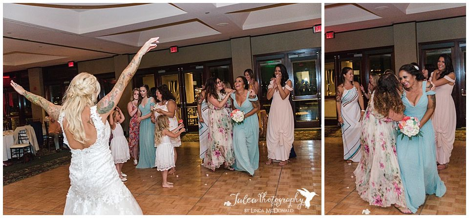 bridesmaid-catching-bouquet