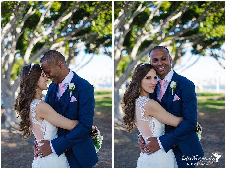 harbor-island-san-diego-wedding-couple-posing