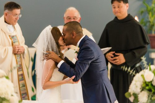 first-kiss-st-columba-catholic-church-san-diego