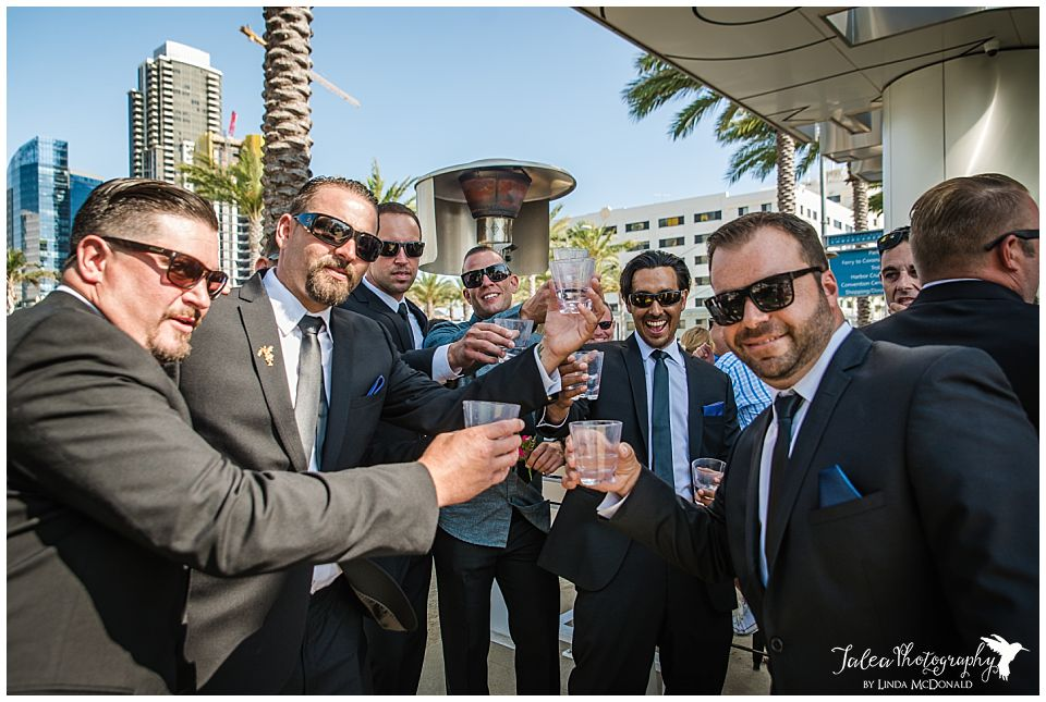 groomsmen-doing-a-cheers-at-a-bar-in-san-diego-before-ceremony