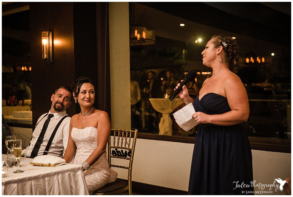 bride-groom-listening-to-maid-of-honor-speech