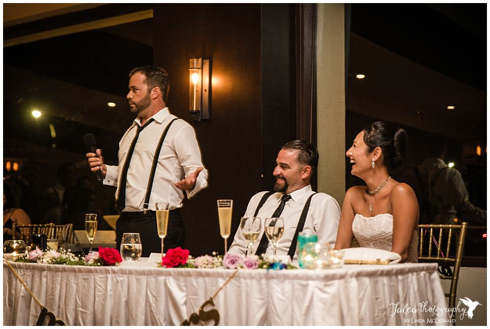 bride-groom-laughing-at-best-man's-speech