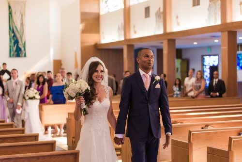 wedding-recessional-groom-with-relieved-look-on-his-face