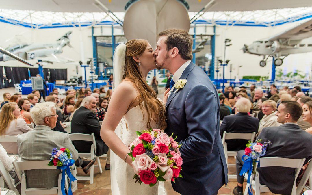 San Diego Air & Space Museum Wedding Photos