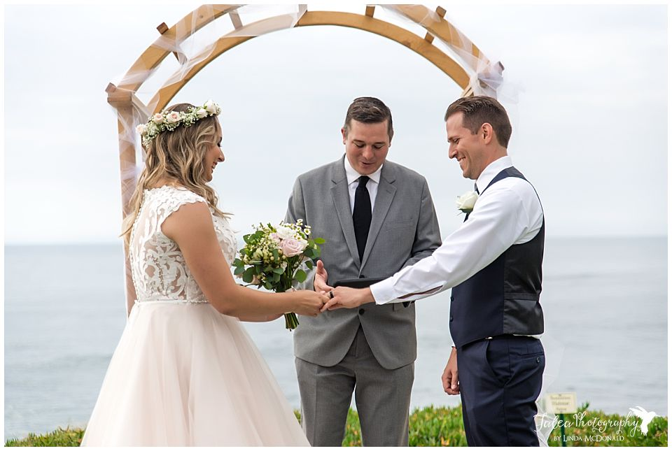 wedding bowl cuvier park la jolla ring exchange