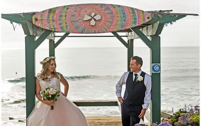 J & D | Intimate Cuvier Park La Jolla Wedding
