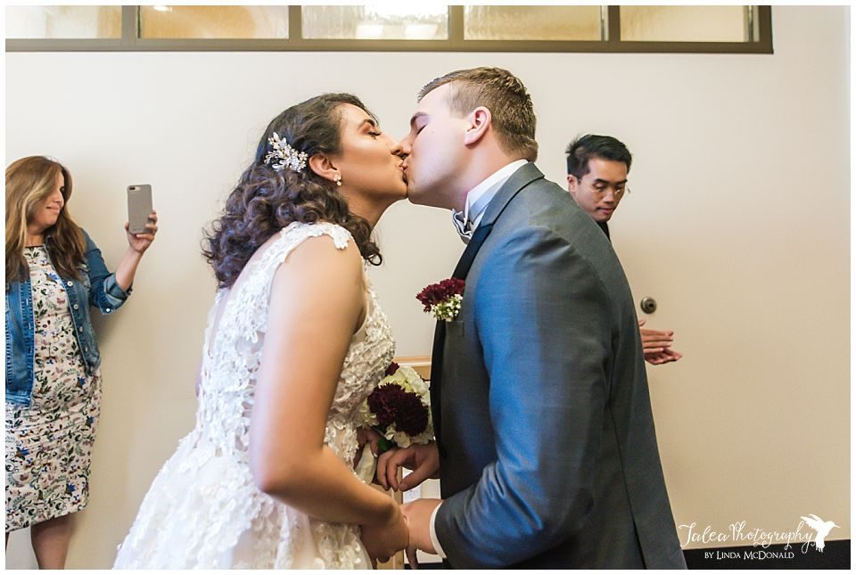 first-kiss-civil-marriage-ceremony-san-diego