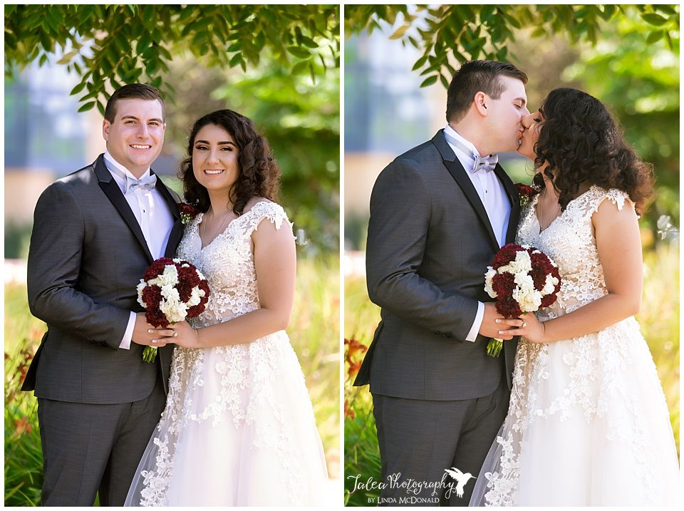 newlyweds-posing-san-diego-courthouse-downtown