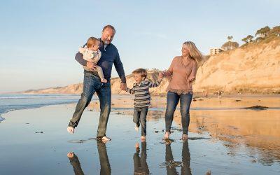 La Jolla Family Beach Photography