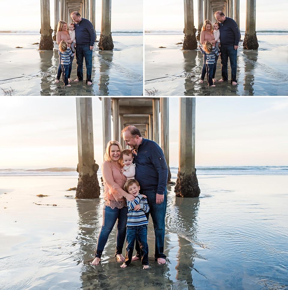 la jolla beach family portraits