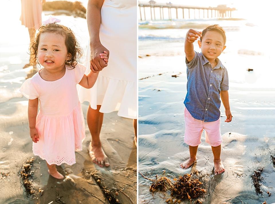 family beach photography san diego