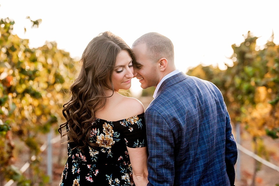 winery proposal portraits with Jalea Photography San Diego Photographer