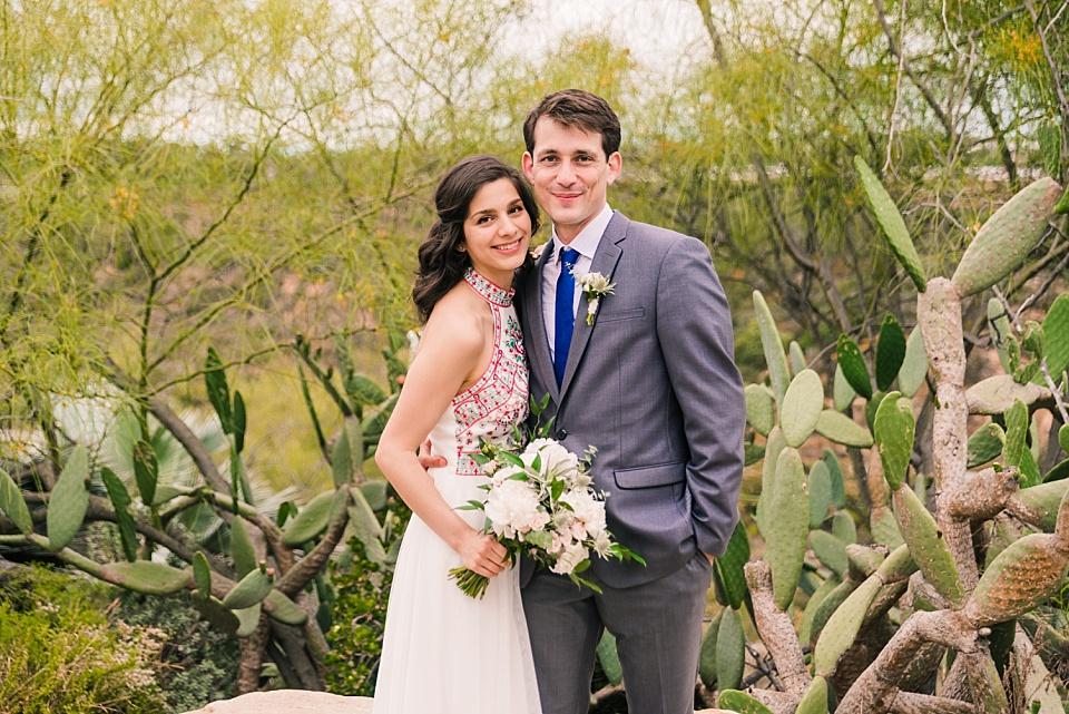 san diego balboa park couple posing at cactus garden