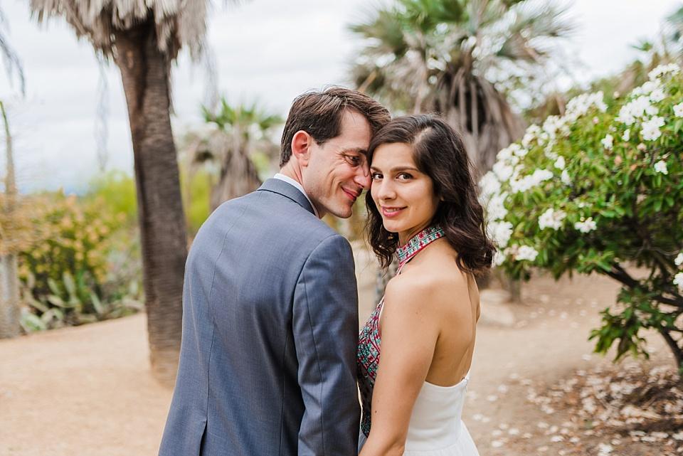 desert garden balboa park wedding photography