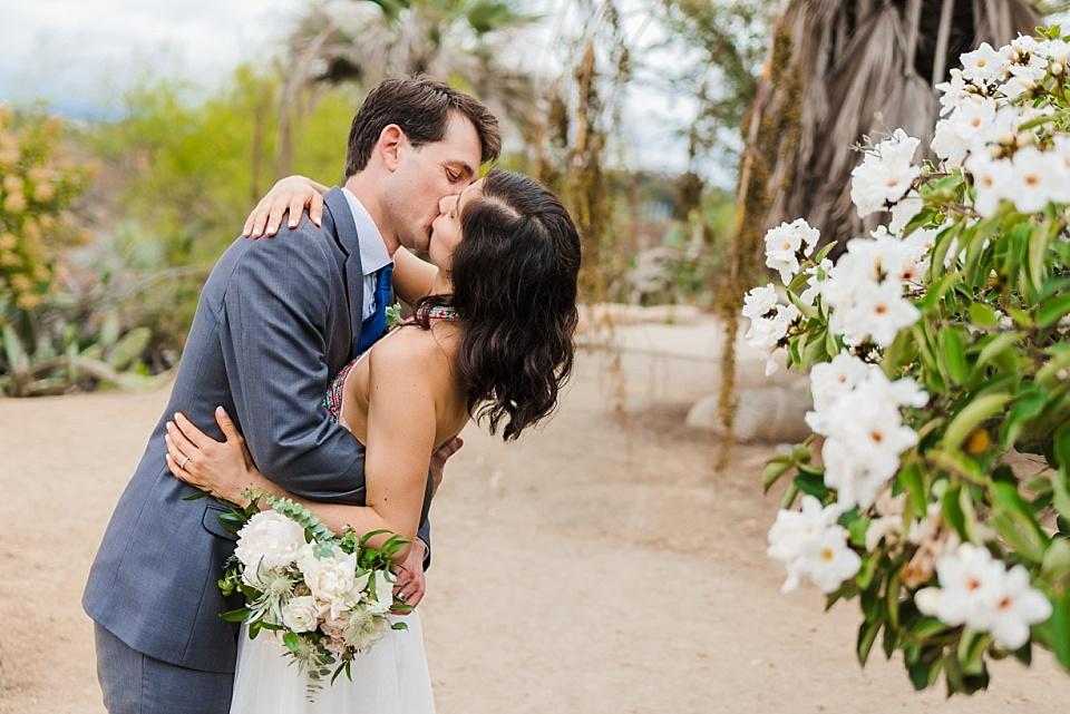desert garden balboa park elopement photographer