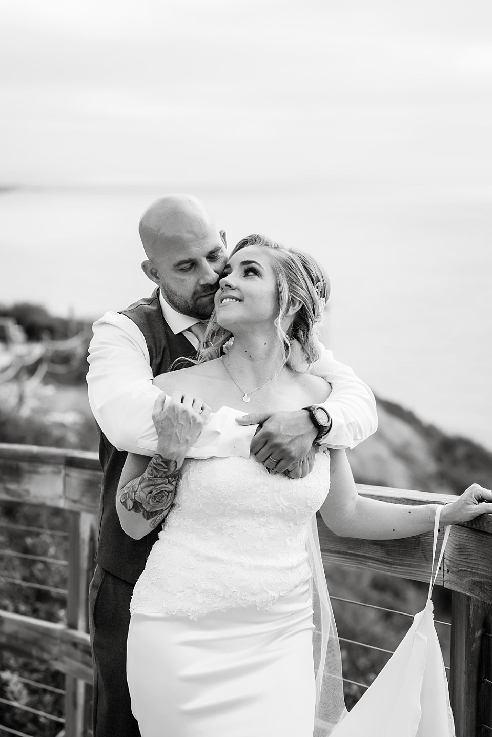 black and white romantic couples portraits la jolla beach wedding venues