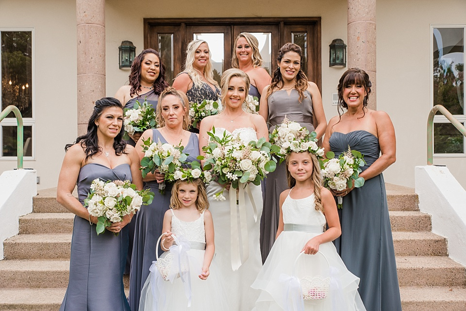bridesmaid photo group shots la jolla wedding photography