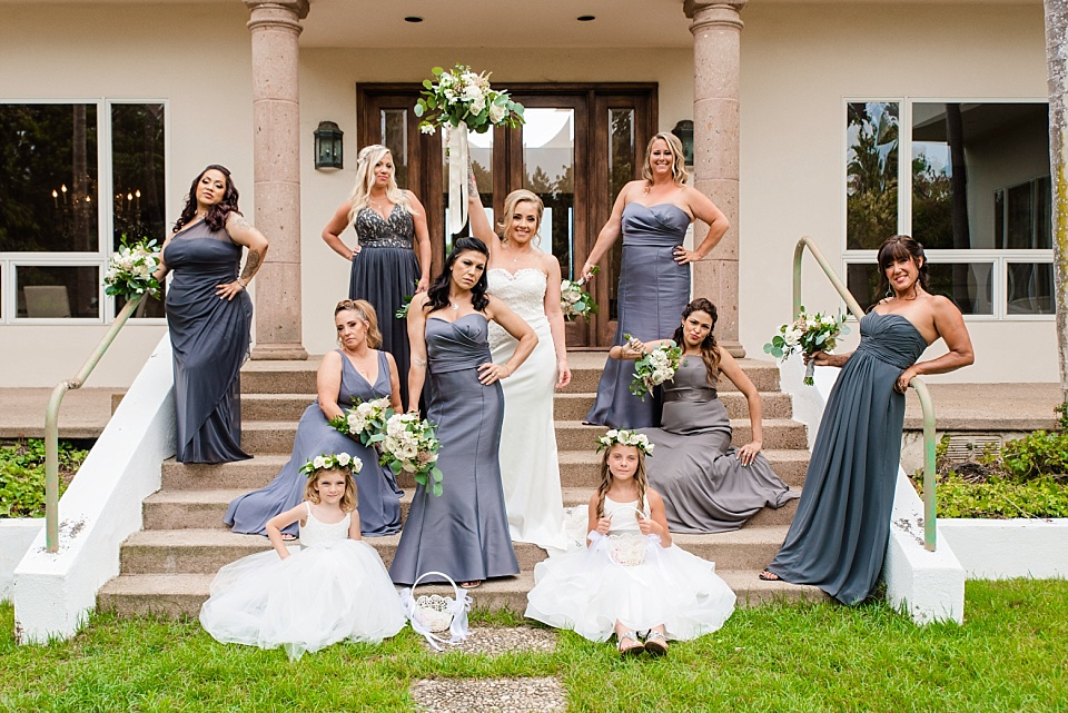 la jolla wedding bridesmaid group photos