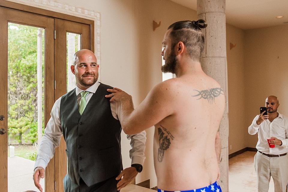 first look wedding photos groom reaction