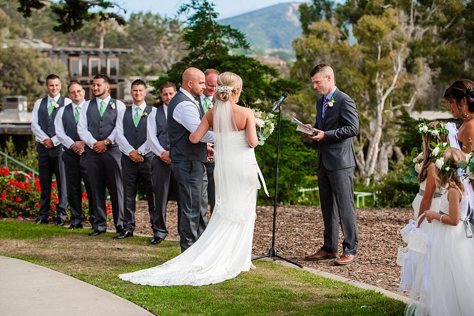 martin johnson house wedding ceremony