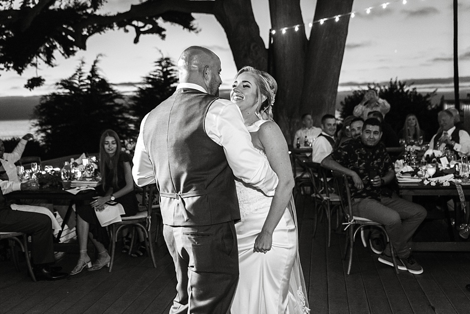 couples first dance reception best outdoor wedding venues san diego