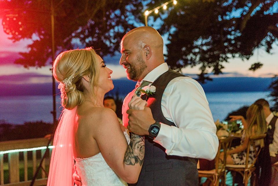 bride groom first dance outdoor venues san diego