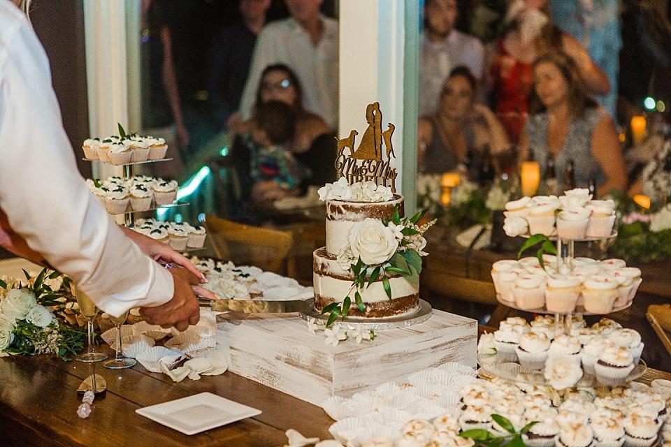 wedding cake cutting la jolla wedding venue
