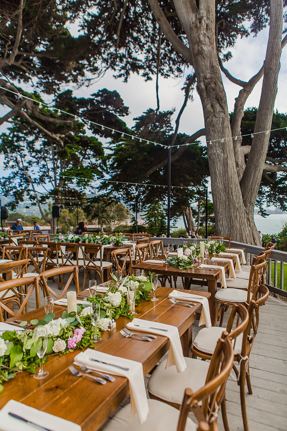 la jolla venues outdoor reception decor