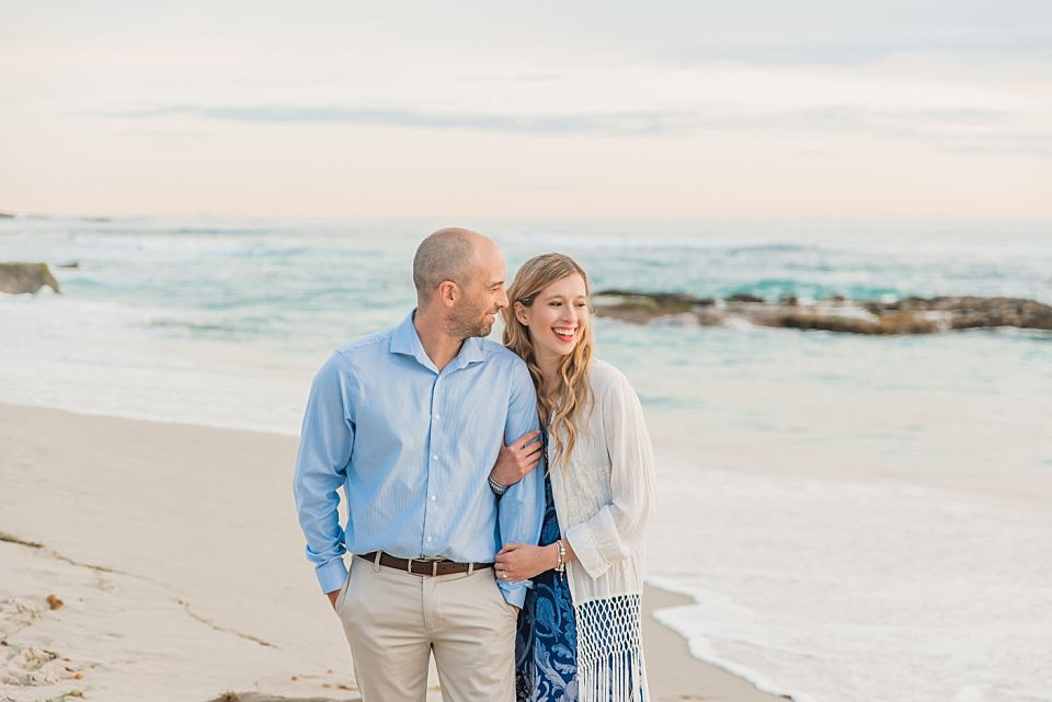San Diego Engagement Photos | Windandsea Beach