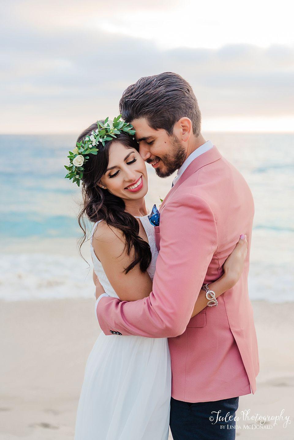 groom nuzzling bride california elopement destinations