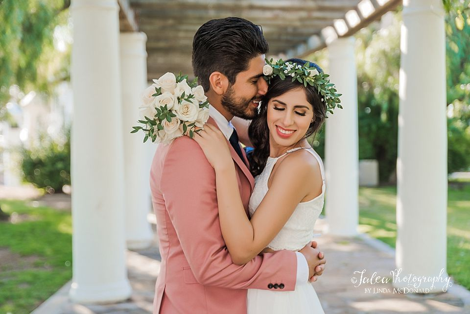 playful bridal and groom portrait elopements san diego