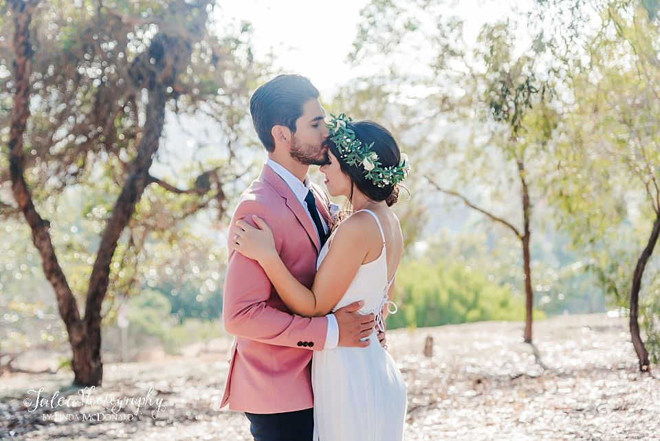 romantic bride and groom portrait where to elope san diego