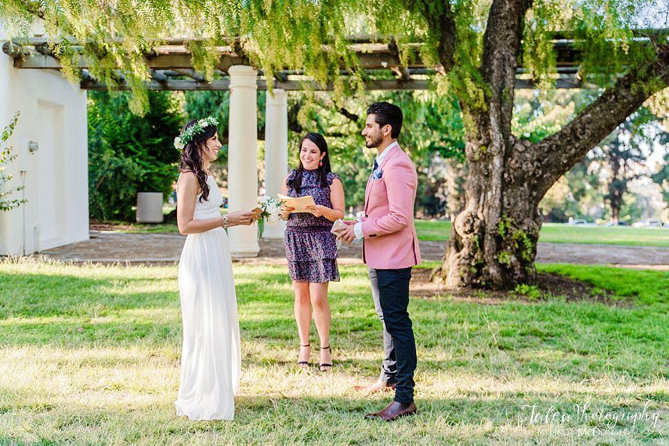 Presidio Park intimate elopment san diego wedding photographer