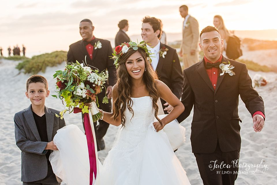 intimate park small elopement wedding san diego photographer Jalea Photography