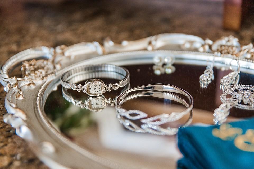 bridal details classic silver womens watch Coronado photographer